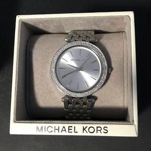 NEW Michael Kors (MK) Darci Silver Watch MK3190